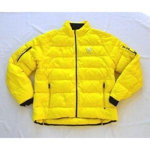 rLX Ralph Lauren yellow down jacket men size L